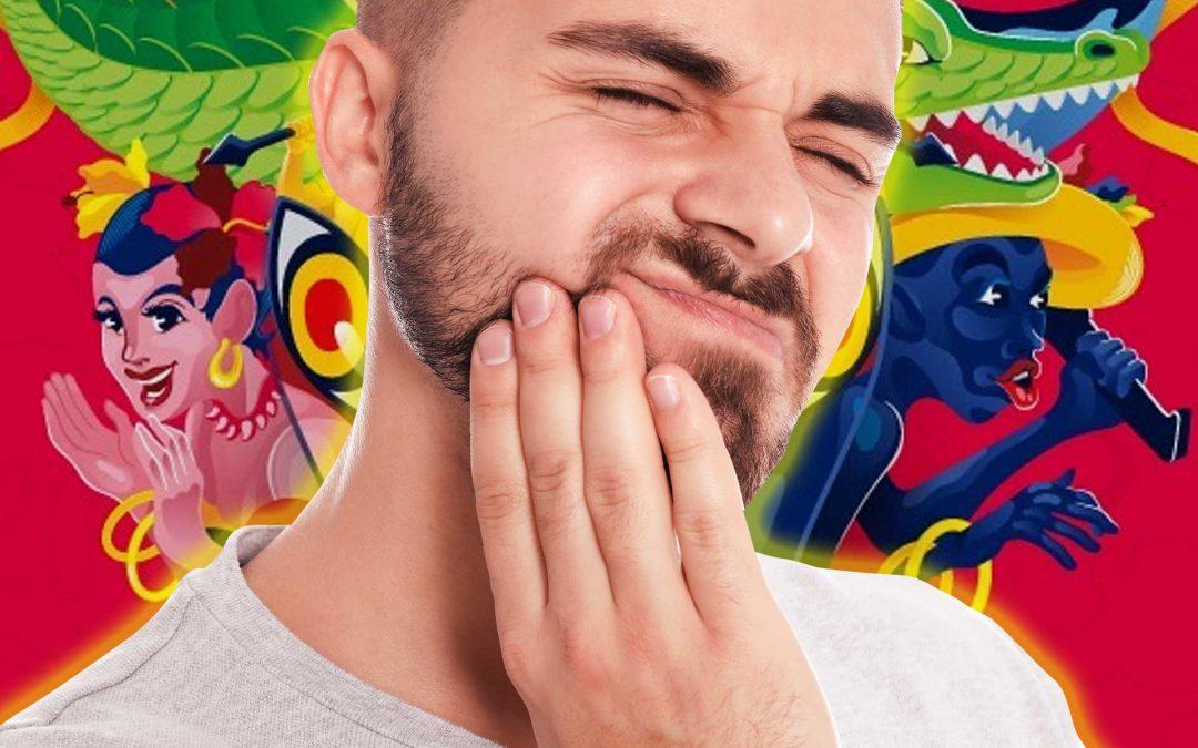 Los 5 Accidentes dentales más frecuentes durante Carnavales
